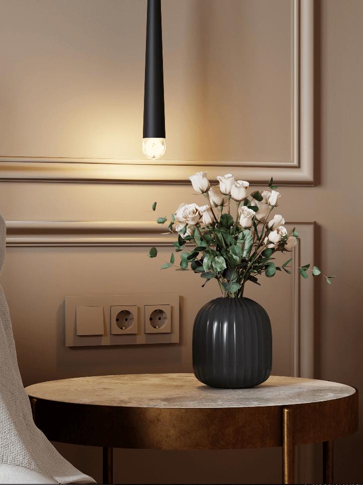 Small bedroom in pleasant colors - cgi visualization 2
