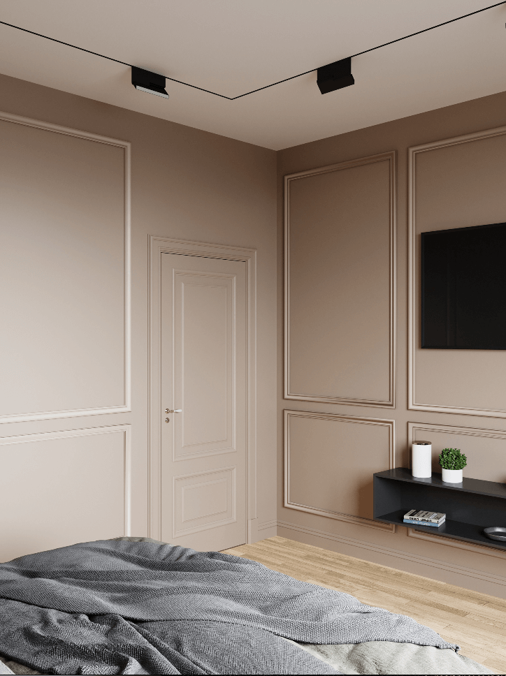Small bedroom in pleasant colors - cgi visualization 4