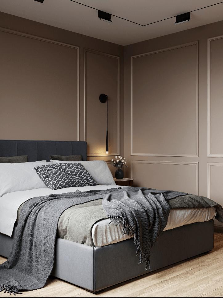 Small bedroom in pleasant colors - cgi visualization 7