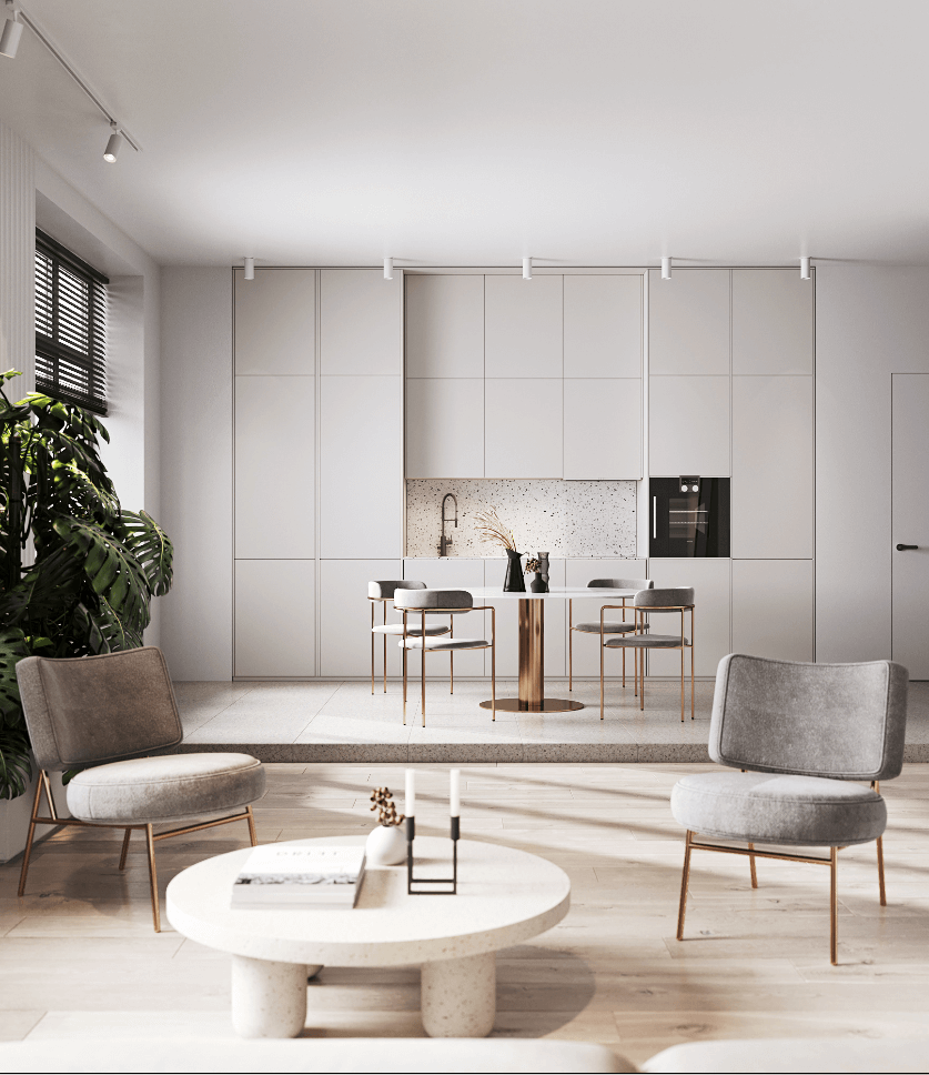 Stylish Apartment in Moldova - cgi visualization 3