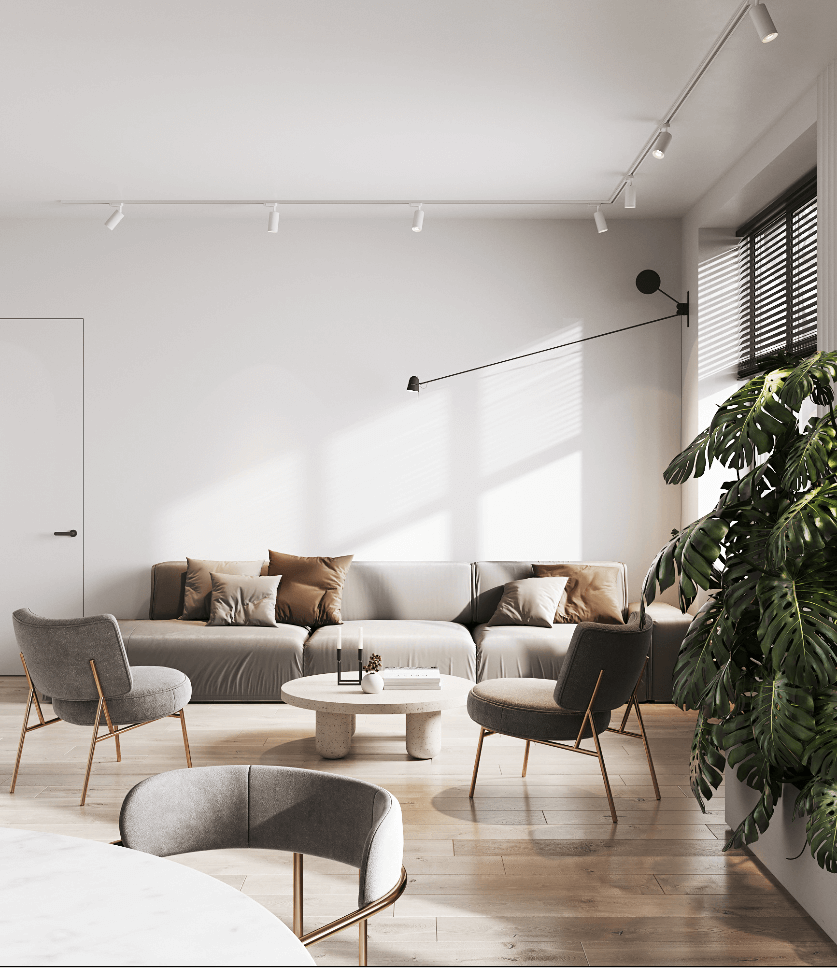 Stylish Apartment in Moldova - cgi visualization 9