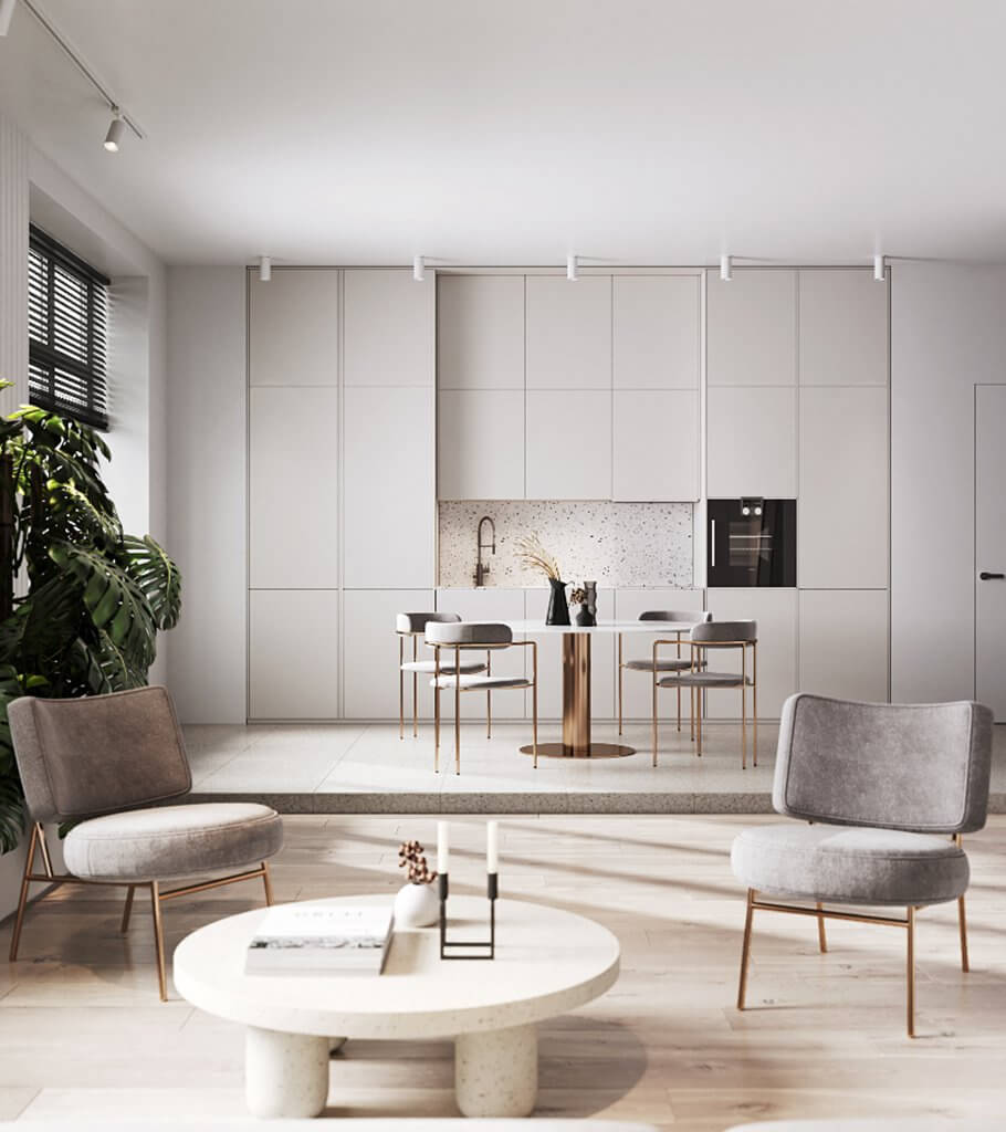 Stylish Apartment in Moldova header - cgi visualization