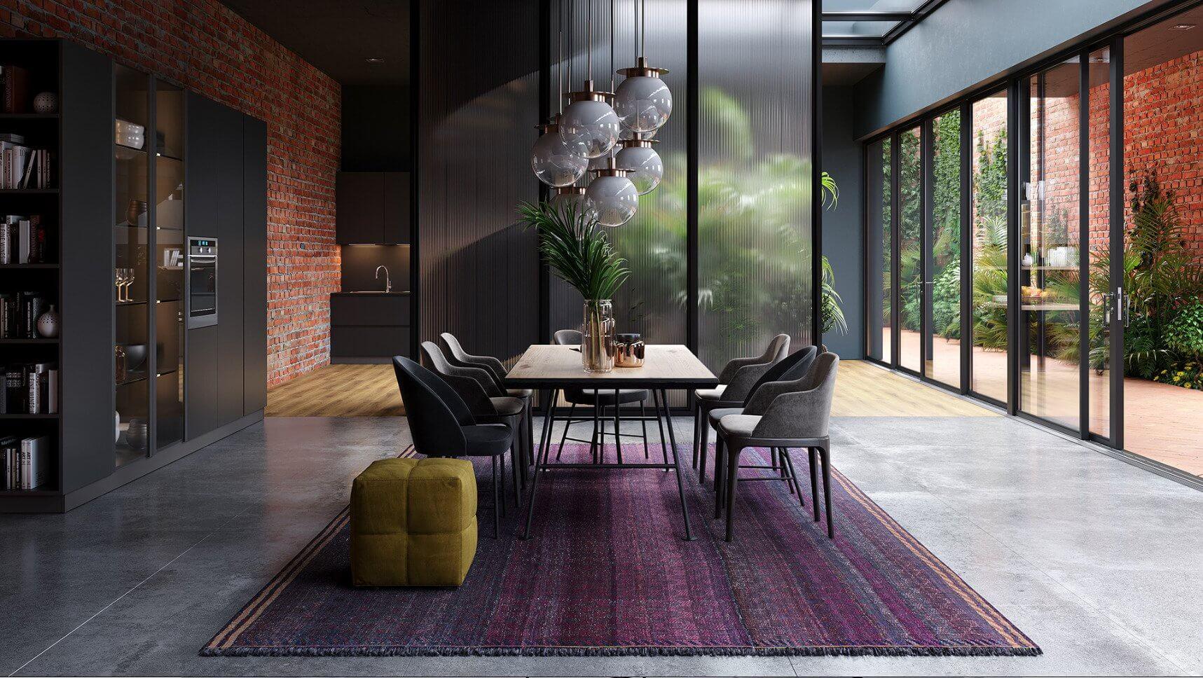 Lovely Living room interior design inspiration - cgi visualization 2