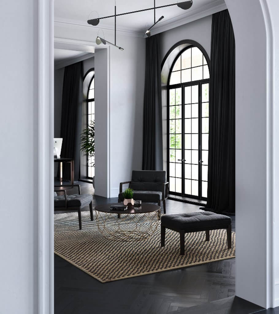 Lovely Living room interior design inspiration - cgi visualization