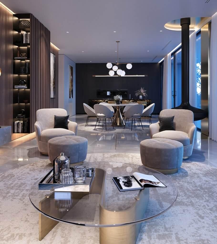 Luxurious and stylish penthouse design - cgi visualization header